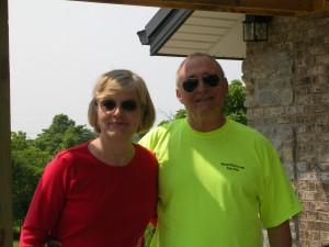 Ben & Brenda at a NKY vineyard
